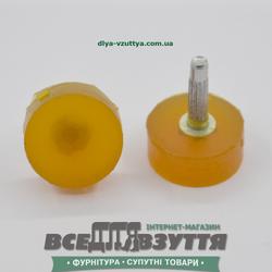 Набойка полиуретановая ЛЬВОВ № R15 цв. БЕЖ