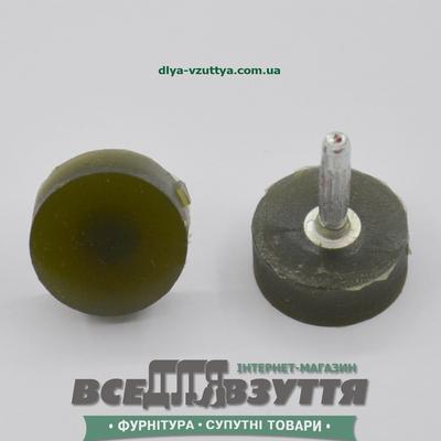 Набойка полиуретановая ЛЬВОВ № R15 цв. Черн.
