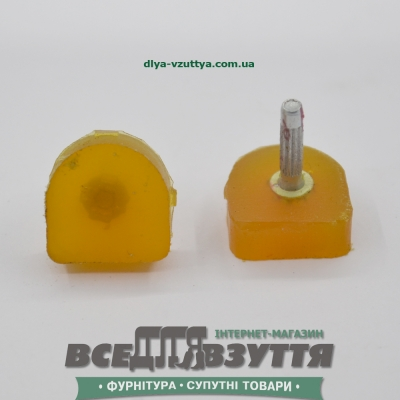 Набойка полиуретановая ЛЬВОВ №15 цв. БЕЖ