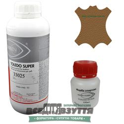 Краска для кожи KENDA FARBEN TOLEDO SUPER 100мл/1Л  светло-коричневый 33025