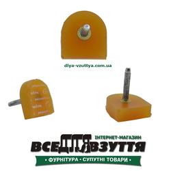 Набойки полиуретановые(Cromton) 17ммх17мм бежевые