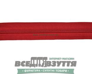 Молния №7 (метражная) красная