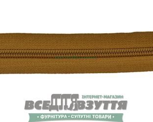Молния №7 (метражная) орех