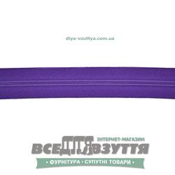 Молния обувная Т6 (№5)(метражная) фиолетовая