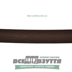 Молния обувная Т6 (№5)(метражная) коричневая