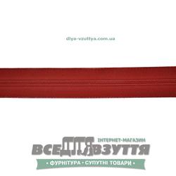 Молния обувная Т6 (№5)(метражная) красная