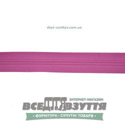 Молния обувная Т6 (№5)(метражная) розовая