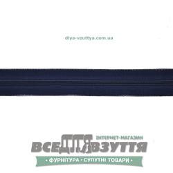 Молния обувная Т6 (№5)(метражная) синяя