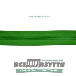 Молния обувная Т6 (№5)(метражная) зеленая