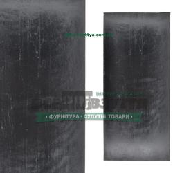 EXTRA LUX 8Х290Х130 черный/гладкий.Полиуретан