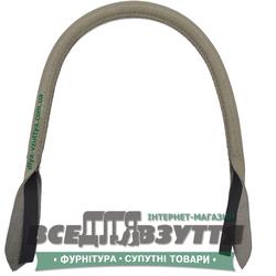 Ручки кожаные на сумку (59см)  цв. Серый