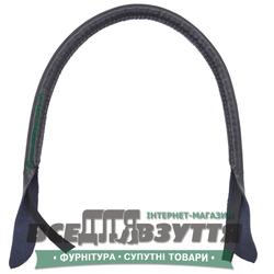 Ручки кожаные на сумку (59см)  цв. Синий