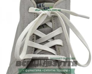 Шнурок вощеный плоский 2х5 (90см) белый