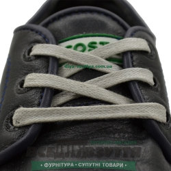 Шнурок вощеный плоский 2х5 (100см) светло-серый