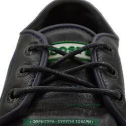 Шнурок вощеный круглый 1.2.8 (90см) черный