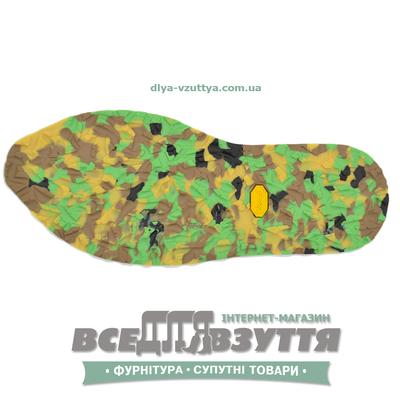 "След-подошва Bissell т.4,5мм ""Army-green"""