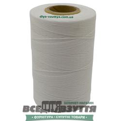 Шнур вощеный плоский 0,8мм 500м цв.Белый