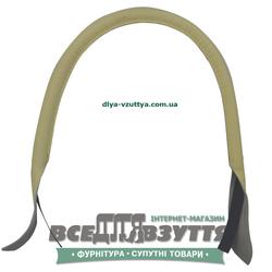 Ручки кожаные на сумку (59см)  цв. Бежевый